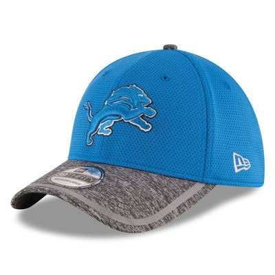 Detroit Lions New Era On Field Training Camp 39THIRTY Flex Hat - Blue