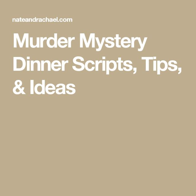 Murder Mystery Dinner Sheet Free: Pin On Murder Mystery Party