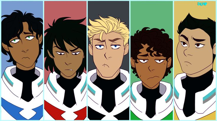 voltron au!! a redraw (sort of) of this cap :D bonus piper and will