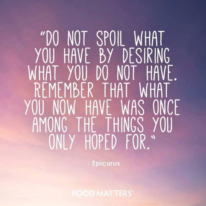 The Attitude of Gratitude <3