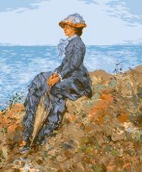 On the Sea Shore - Nicolae Grigorescu