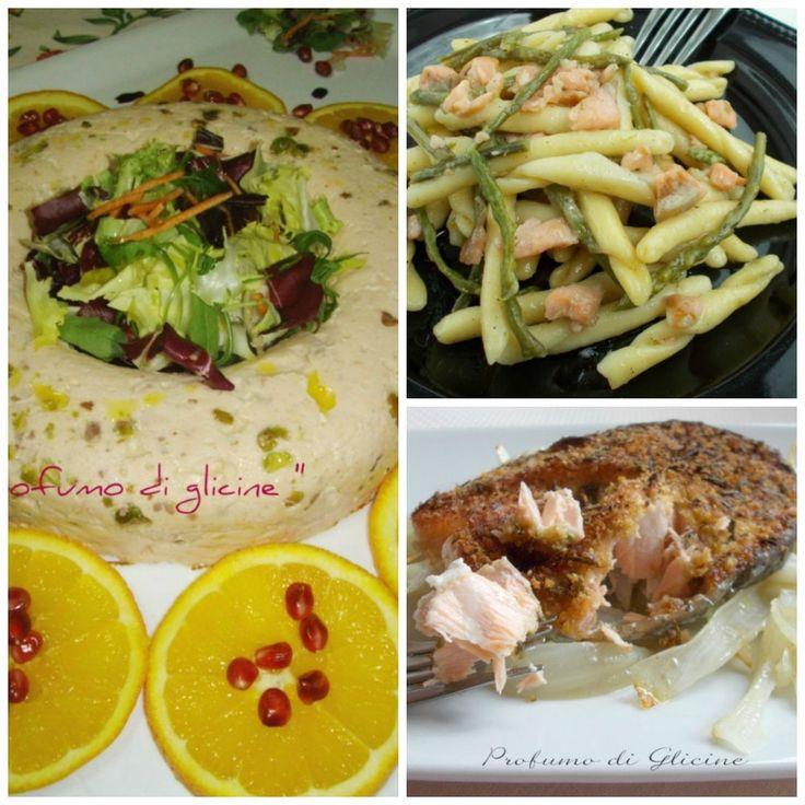 Raccolta di ricette con salmone fresco o affumicato per il pranzo della vigilia di Natale e il cenone di San Silvestro Profumo di glicine