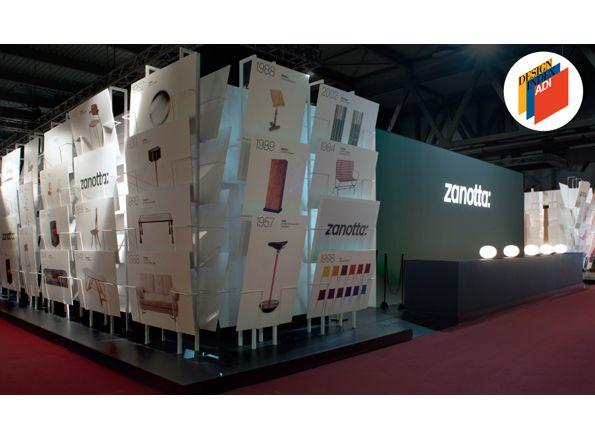 Zanotta Happenings » ADI Design Index 2016: lo stand Zanotta al Salone del Mobile 2015, firmato dallo Studio CalviBrambilla, è stato selezionato all'interno della più ufficiale e significativa mappatura del panorama italiano del progetto di design.