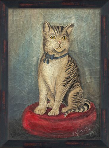 Grey Tabby Cat - Spicher and Company | domino.com