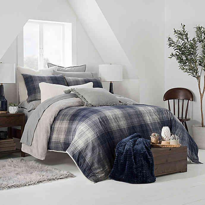 Ugg Redding Plaid Reversible Duvet Cover Set Bed Bath Beyond Bed Linens Luxury Comforter Sets Bed Duvet Covers