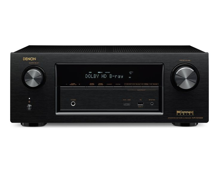 Denon AVRX2100W Wireless Networked 4K Ready Home Cinema Receiver: Amazon.co.uk: Electronics