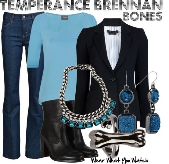 "Emily Deschanel as Temperance Brennan on ""Bones"" - Shopping info!"