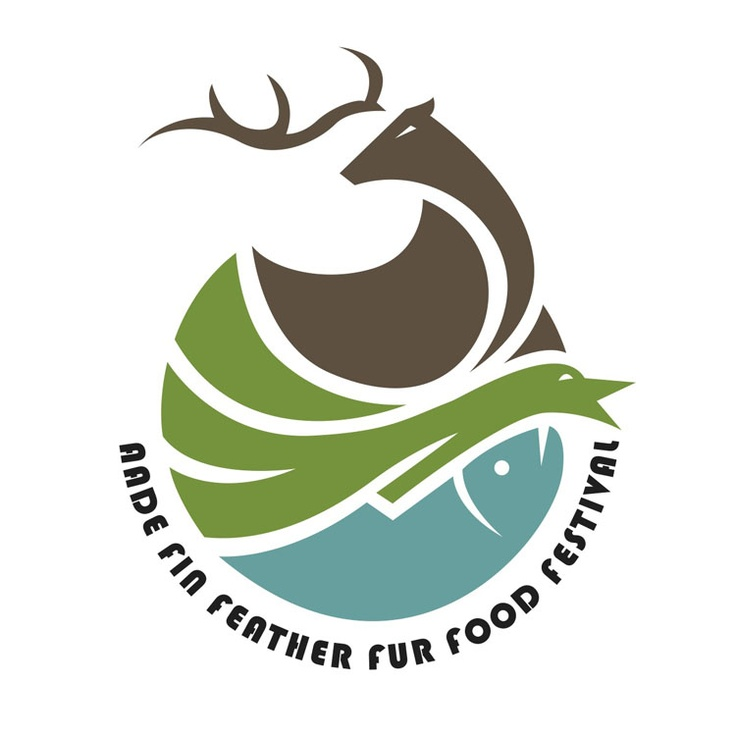logo / AADE Fin Feather Fur Food Festival . Denver, CO