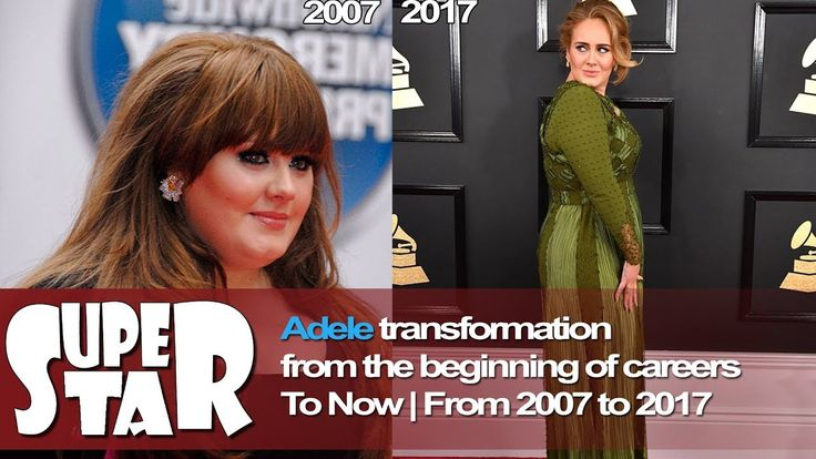 Adele Transformation  from the beginning of career to Now - from 2007 to...
