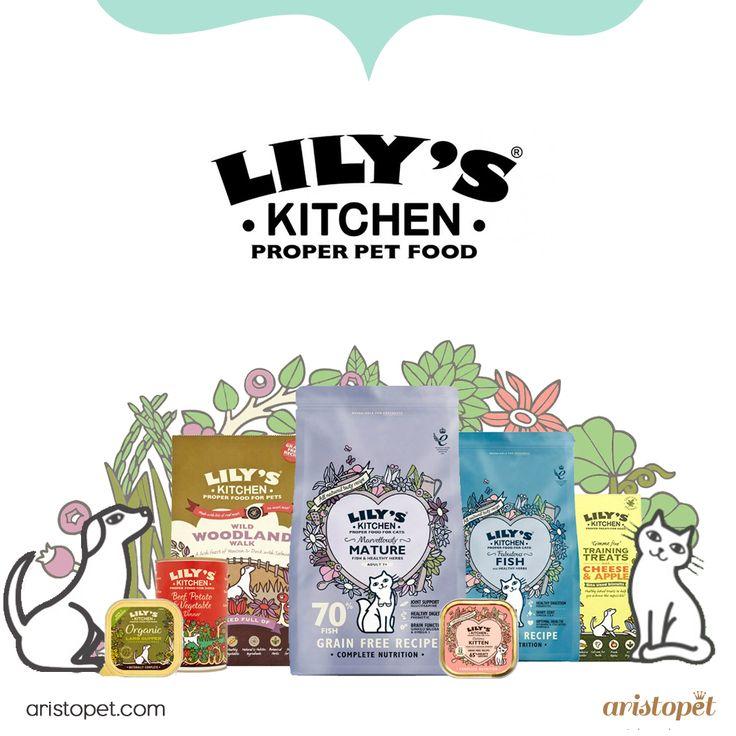 En ARISTOSHOP queremos cuidar la alimentación de tu ARISTOPET. Por eso te presentamos a Lily's Kitchen , una marca especializada en comida ecológica para perros y gatos. Esta gama de alimentos utiliza ingredientes frescos y saludables, con todos los nutrientes necesarios para que tu mascota tenga buena salud. Visita ARISTOPET.COM/ARISTOSHOP y elige la que mejor se adapte a tu peludo.