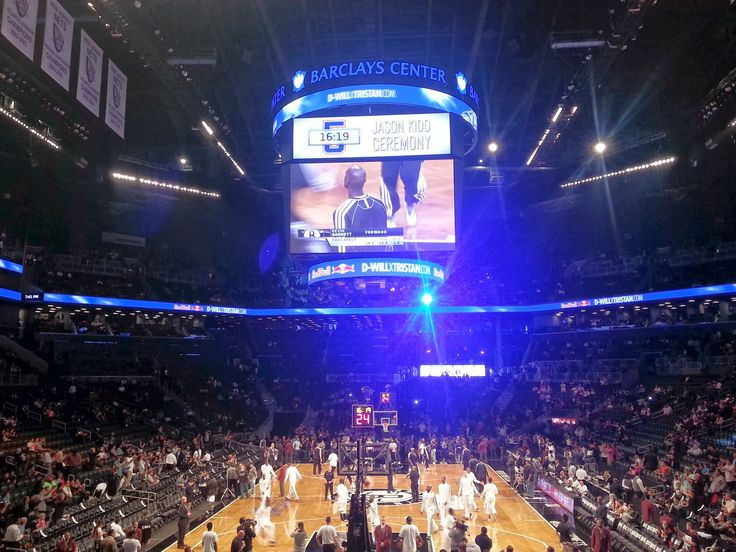 Barclays Center - home stadium of Brooklyn Nets.
