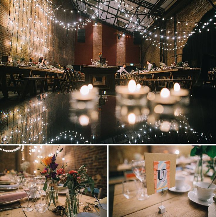 Village Underground Wedding  A Vintage Circus Comes To London Town. | http://www.rockmywedding.co.uk/a-vintage-circus-comes-to-london-town/