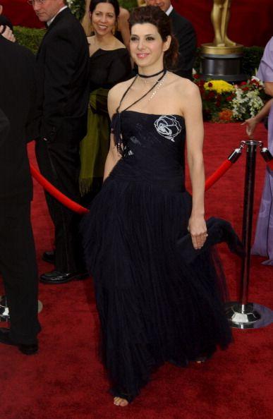 Marissa Tomei in a Jørgen Simonsen gown.