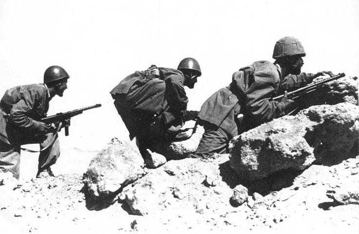 La Folgore combatte a Takrouna - Tunisia 1943, pin by Paolo Marzioli