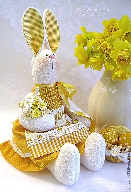 8 Ideas para hacer conejos de tela
