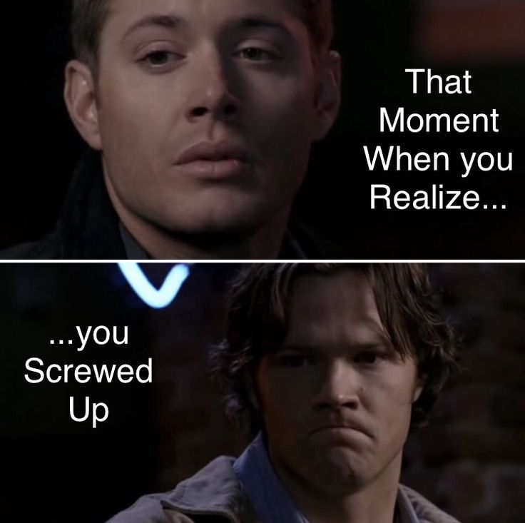 Tried to make my own meme lol (2x15) Tall Tales #supernatural #sam #dean