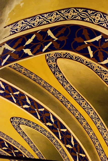 Ceiling of the Grand Bazaar in Istanbul Turkey #travel