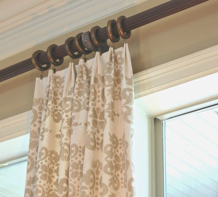 Lemons to Lovelys: Easy No Sew Drop Cloth Curtains WITH ...