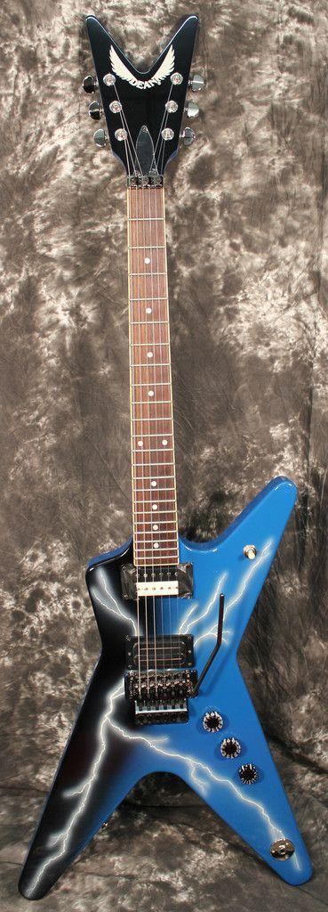 2014 Dean Dimebag Dean From Hell CFH Electric Guitar Lightning Signed