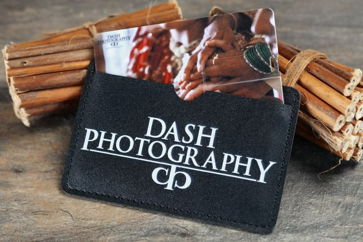 "An easy way to ""package"" your USB Cards is to put them into a printed leather wallet! - all from USB2U #USB #Wallet"