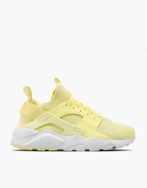Nike Huarache Yellow And White