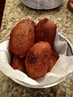 Alcapurrias...stuffed plantain..yummy