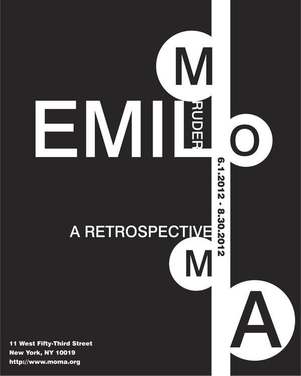 Emil Ruder. Ho scelto quesa immagine perchè presenta una composizione particolare e interessante.