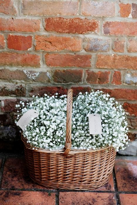 Gypsophilia bridesmaids bouquets - Weddings - Wessex Flower Company