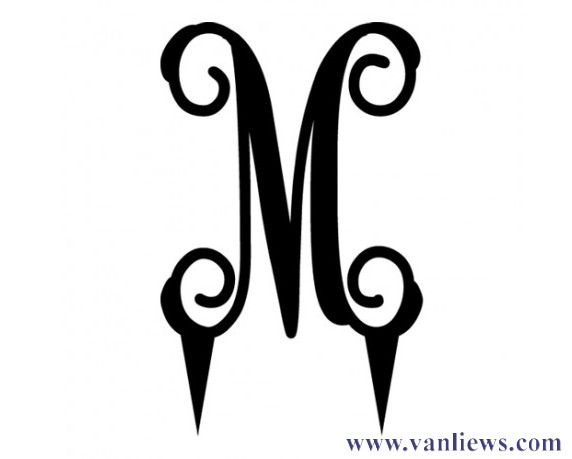 26 Best Images About Available Monogram Styles On