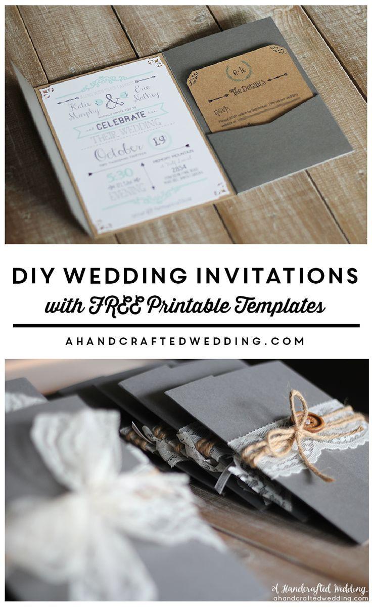 FREE Wedding Invitation Templates make a