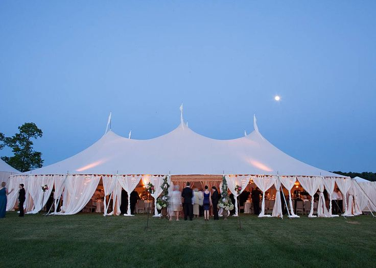 Draped Tent - Wedding designed by Easton Events - Destination Wedding Planners with offices in Charleston, SC and Charlottesville, VA photo by Patricia Lyons