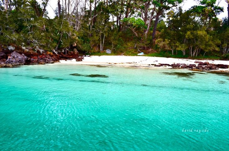 One of t he Many beautiful beaches at Huskisson, Jarvis Bay, South coast NSW