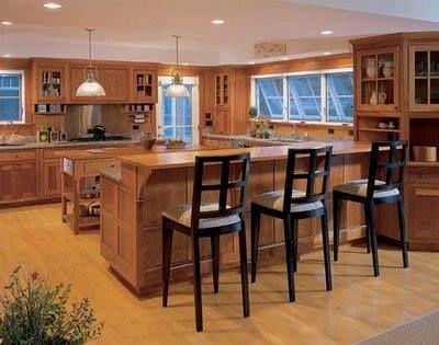 kitchen brown