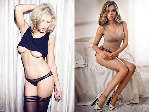 PHOTOS Scarlett Johansson entièrement nue dans