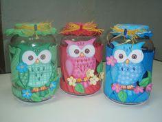 frascos de compotas decorados para fiestas infantiles - Buscar con Google