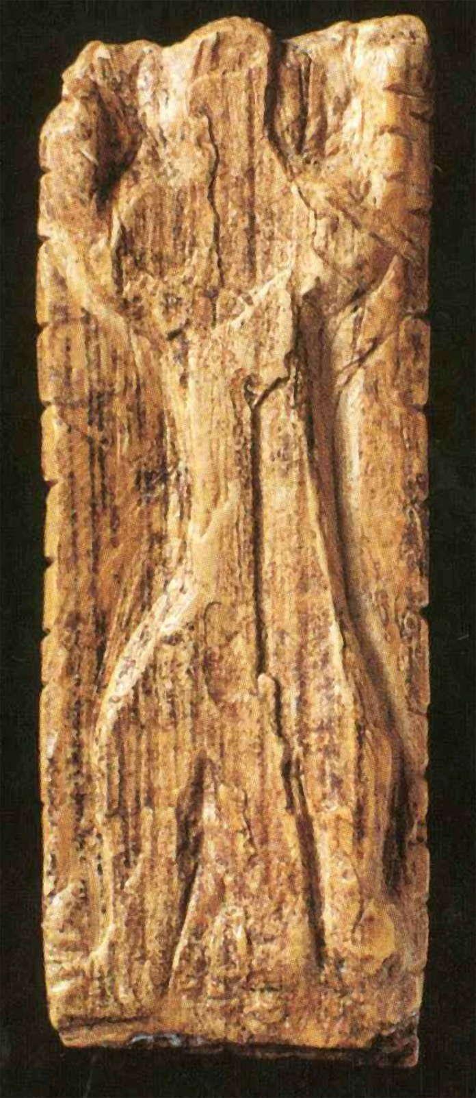 The Adorant / The Worshipper -  Aurignacian, probably 35,000–32,000 BP