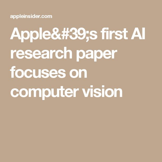 "••Apple's 1st A.I. RESEARCH paper focuses on computer vision•• 2016-12-26 AppleInsider report - methods of improving recognition in computer vision systems • a new direction for the traditionally secretive co? • paper  ""Learning from Simulated & Unsupervised Images through Adversarial Training"" (GANs technique) submitted for review in mid-Nov prior to Dec22 publication inCornell Univ Library, signed by vision expert Ashish Shrivastava & team & Apple Dir. of AI Research, Josh Susskind"