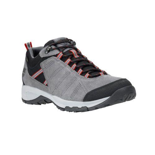 Men's Timberland® Tilton Low Leather Waterproof Hiking Shoes Grey