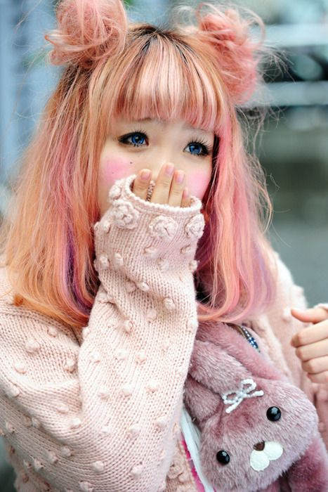 Pastel Cute Hairstyle~~