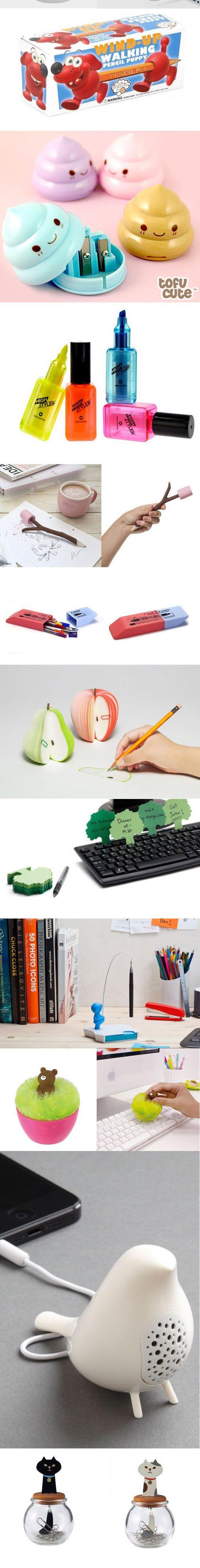 fun office supplies for desk. Coolest Desk Accessories Ever. SuppliesOffice SuppliesCute Fun Office Supplies For