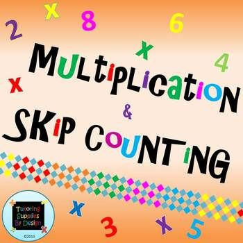 1000+ images about Skip Counting on Pinterest | Bird bulletin ...