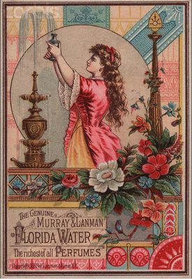 Vintage Perfume Labels...very pretty collection