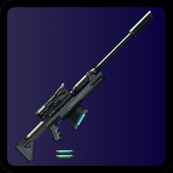 Long range stealth kills. The #Nightlancer dart rifle.  http://ift.tt/2s8rndr  #cyberpunk #indiegame