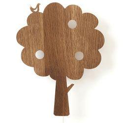LouLeChien - ferm living - houten wandverlichting tree