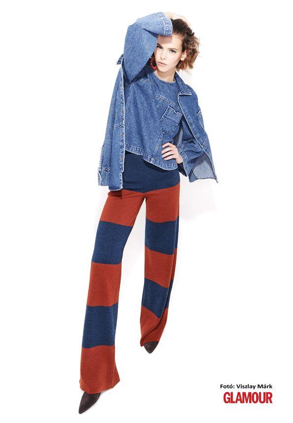 Farmer nélkül soha! (Ősszel sem.) És a csíkokat is szeretjük. Denim forever! And stripes, too.