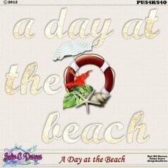 A Day at the Beach Alpha