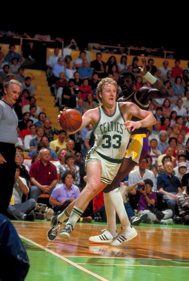 Larry Bird Boston Celtics Los Angeles Lakers