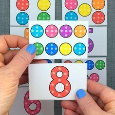 dotty number puzzles for preschool and kindergarten