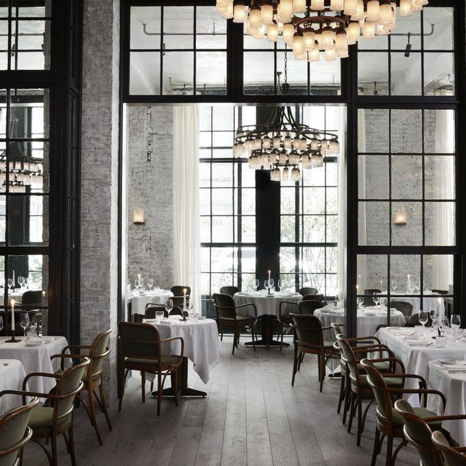 Le Coucou restaurant. 11 Howard hotel. Roman and Williams.