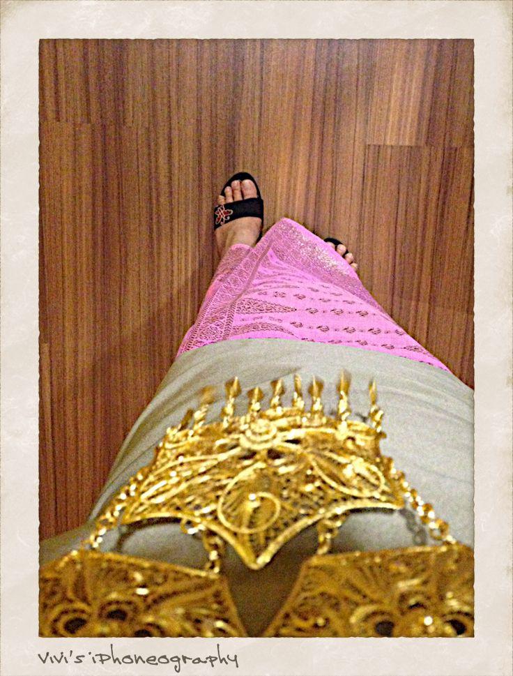 My ethnic style. Copyrights Vivi Kembang Tanjoeng.